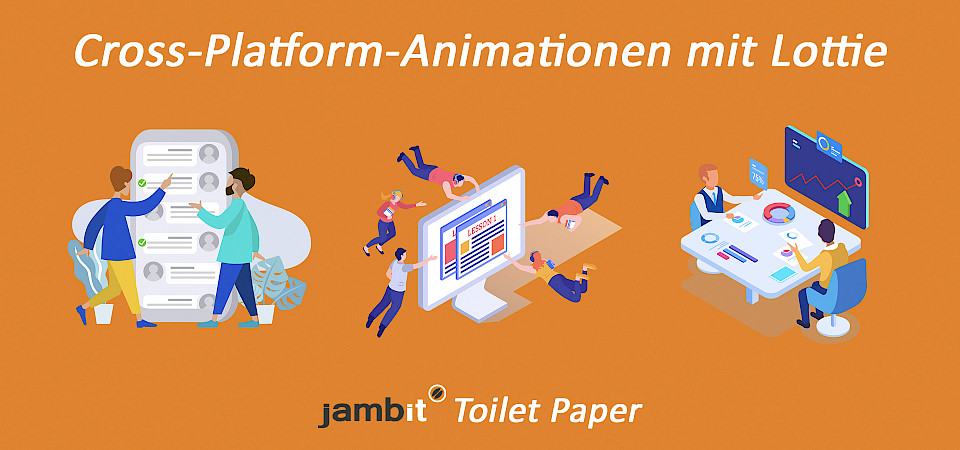 Cross-Platform-SVG-Animationen als Json-File mit Lottie einbinden