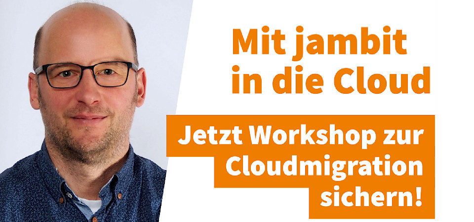 "jambit Anforderungsworkshop ""Cloudmigration"""
