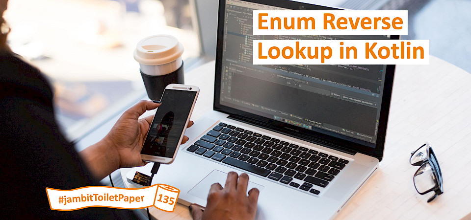 Enum Reverse Lookup in Kotlin, Android