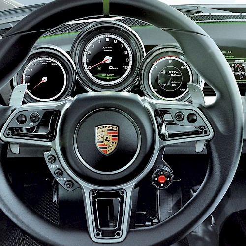 S1nn - Headunit development for Porsche Spyder