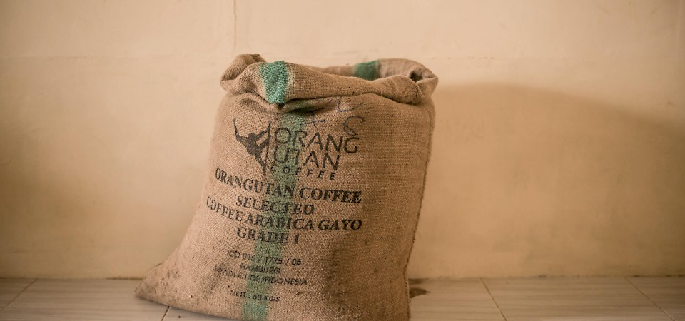 Orang Utan Coffee Bag