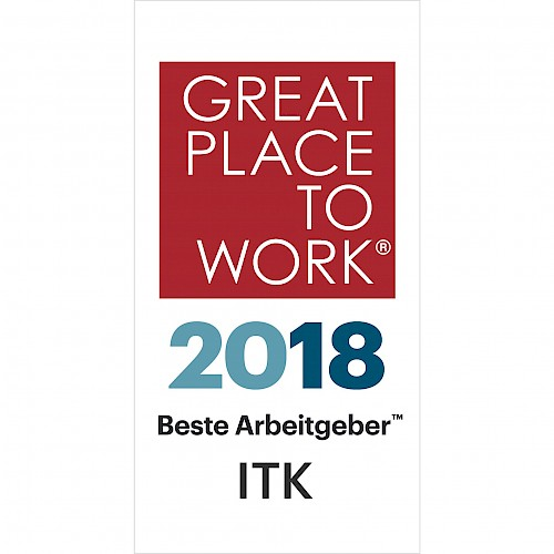 "GPTW #2: jambit also announced as ""Great Place to Work® in ITK 2018"""