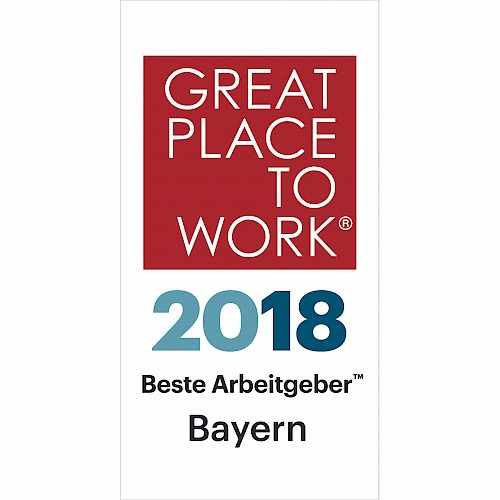"GPTW#3: Now jambit is also a ""Great Place to Work® 2018 Bavaria"""