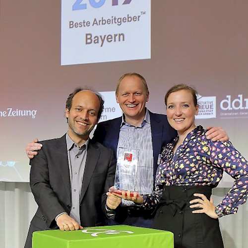 "Silver medal for jambit as one of ""Bavaria's Best Employers 2019"""