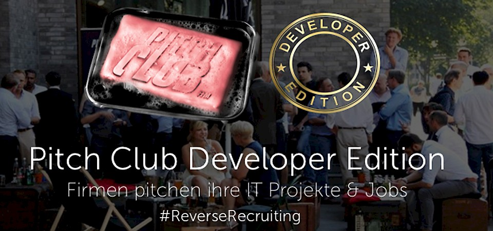 Pitch Club Developer Edition – Reverse Recruiting for Companies