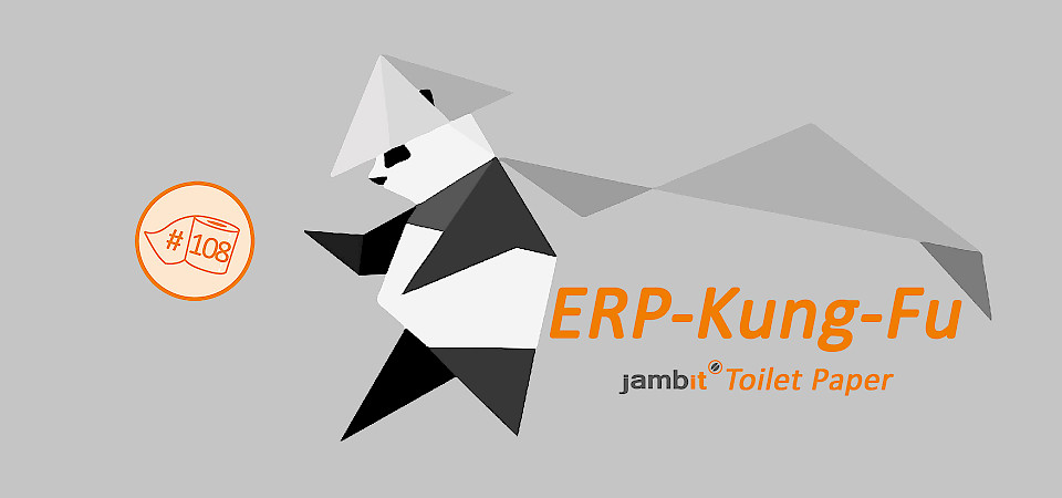 ERP Kung Fu with Pandas
